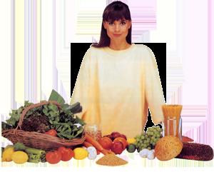 guía de comida recomendada